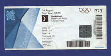 Orig.Ticket  Olympic Games LONDON 2012  //  BASKETBALL   AUSTRALIA - ENGLAND  !!