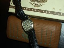 BEAUTIFUL 1942 BULOVA*MILITARY MEDICAL OFFICER'S*DOCTORS WATCH W/ORIG BOX RUNS