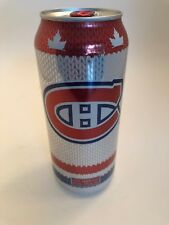 Molson Canadian Can Montreal Canadiens jersey Sock empty