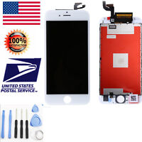 White LCD Display Touch Screen Digitizer Framed Assembly For iPhone 6S Plus5.5''