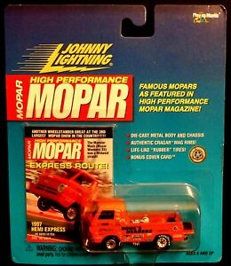 Johnny Lightning High Performance Mopar 1997 Hemi Express- 1:64 Life-like Tires