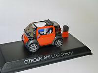 Citroën AMI ONE Concept électrique salon Genêve 2019 au 1/43 de NOREV AMC0191243