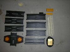 Vintage Tyco Ho slot car Track Sections,Controllers, power supply