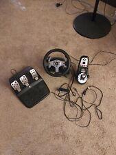 Logitech G25 steering wheel set USB Sim Racing