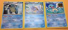 Blastoise 31/149 Wartortle 30/ Squirtle 29/ Boundries Crossed Set Pokemon Cards