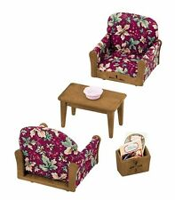 Epoch Ka-509 Sylvanian Families Living Room Arm Chair Sofa Set F/s From Japan