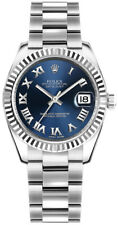 Rolex Datejust 31 Blue Roman Numeral Dial Oyster Bracelet Watch 178274-BLURO