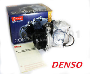 New! Mercedes-Benz S500 DENSO A/C Compressor and Clutch 471-1235 0002300411