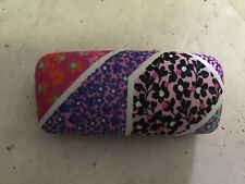 VERA BRADLEY READING GLASSES  OR  EYEGLASSES CASE MODERN MEDLEY CLOTH  NEW
