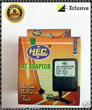 Power Adapter for 8 Bit and Sega 16 Bit TV Video Games OutPut DC 9V 500mA