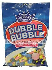 DUBBLE BUBBLE 4.5oz Bag DUBBLE BUBBLE Individually Wrapped CHEWING GUM Exp11/18+