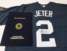 #2 Derek Jeter Authentic Autographed MLB NY New York Yankees Jersey + COA