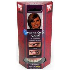 Instant Smile Billy Bob Small Deluxe Pack Acrylic Fake Teeth Small Top Set Adult