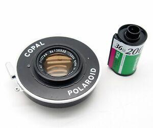 Tominon 127mm F4.7 in Copal Polaroid Shutter - UK Dealer