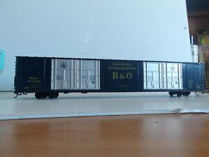 Athearn #1987 HO B&O 86' Hi Cube Boxcar Kit 493024  Kit NIB , Used, (11039)