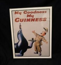New listing My Goodness My Guinness Framed Print 14x11 vintage Guiness Beer