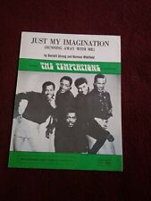 Sheet Music - The Temptations  - Just my Imagination - Excellent Condition