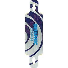 "Seismic Compass Longboard Skateboard Deck - 9.25"""