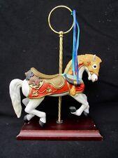 Mazuno Porcelain Carousel White Horse