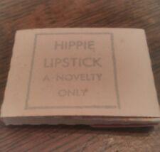 Hippie Lipstick 1970's vending machine risque gag novelty item gift