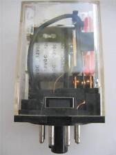 1X Schrack Nte Ecg Electronics Relay R02-11A10 6 12 or 24 Vac Dpdt 10A Rly