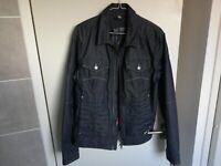 Armani Jeans Denim Jacket Mens Organic Cotton Men`s Blue EU Size 50