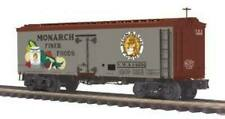 MTH Premier Trains 20-94415 Monarch Foods 36' Woodsided Reefer Car O Scale
