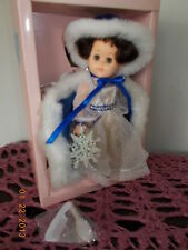 VINTAGE VOQUE GINNY DOLL THE SNOW PRINCESS WITH BOX 1988 11 INCH