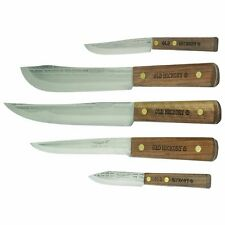 Ontario Knife Co Old Hickory 705 5-Piece Carbon Steel Knife Set *