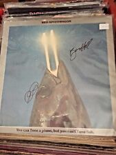 REO Speedwagon  hand signed record albums autographed!