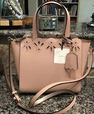 Kate Spade Magnolia Street Eyelet Mini Mina Handbag Blush Pink WKRU5881
