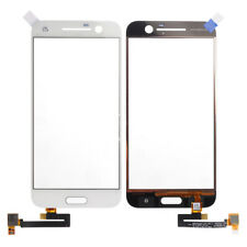 Por HTC 10 One M10 Front Touch Screen Digitizer Outer Vaso Panel Blanco Reparar