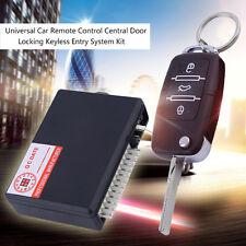 Universal Car Remote Control Central Door Locking Keyless Entry System Kit JS