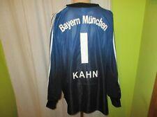 "FC Bayern München Adidas Torwart Trikot 02/03 ""-T---Mobile-"" + Nr.1 Kahn Gr.XXL"