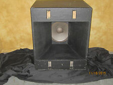 JBL Professional Series Single LF Cabinet with 2220J Woofer USED