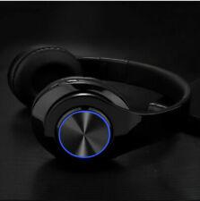 Led Bluetooth Gaming Headset Wireless Earphone Over Ear Headphones Microphone
