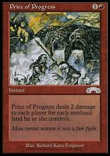1x Price of Progress Exodus MtG Magic Red Uncommon 1 x1 Card Cards