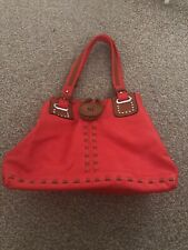 Red Handbag Shopping Bag New