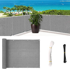 New listing SHOWIN Balcony Privacy Screening Cover Fence Covering for Sun Protection - 197 X