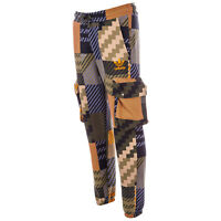 Mens adidas Originals Mad Plaid Cargo Track Pants In Khaki From Get The Label