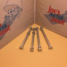 Willys MB Bumper Bolt & Washer Set of 4 EC Marked