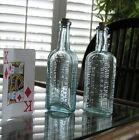 2+Antique+Cocaine+Medicine+Bottles%2C+Pain+Expeller+Richter%22s+Narcotic+Drug+1920