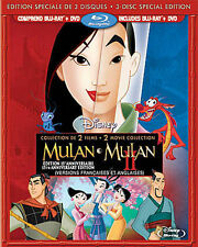 Mulan  / Mulan II (Blu-ray, 2013)