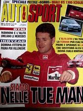 Rombo 15 1994 Alfa Romeo Nannini DTM umiliano Ferrari - Larini in Ferrari [R2]