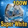 2x H4 9003 HB2 Xenon Halogen Headlight Bulbs High / Low Beam 100W White 5500K !
