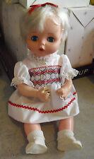 "Vintage 1977 Eugene Blonde Character Girl Doll 16"" Tall"