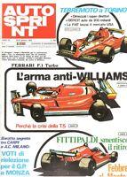 AUTOSPRINT N. 4 1980 - GILLES VILLENEUVE FERRARI F.1 TURBO, RICCARDO PATRESE