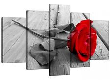 Not Framed Canvas Print Flower Rose Floral Picture Art Home Decor Wall Pictures