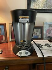 My Cafe Pourover Commercial Grade Coffeetea Pod Brewer Stainless Steel Black