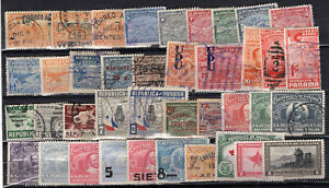 PANAMA LOT, 39 DIFFERENT STAMPS, USED - MH